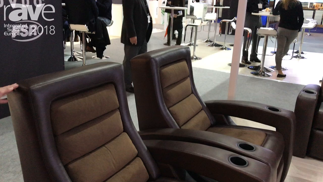 ISE 2018: Fortress Seating Showcases Kensington Chair Based Off a Ferrari Design