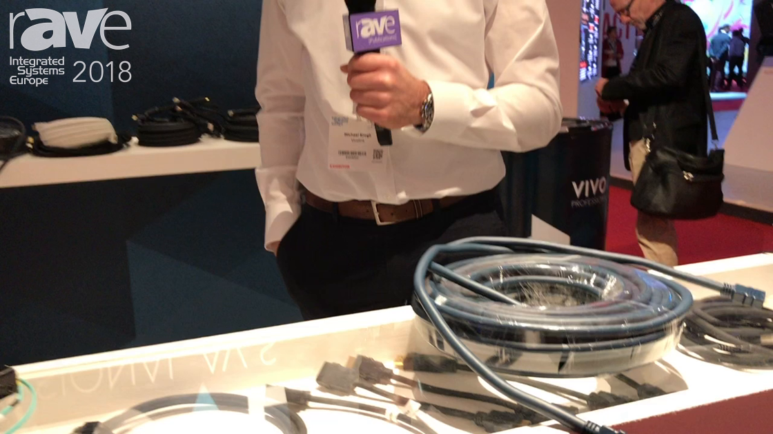 ISE 2018: VIVOLINK Introduces New HDMI Flexible Copper Cable for ProAV Installers