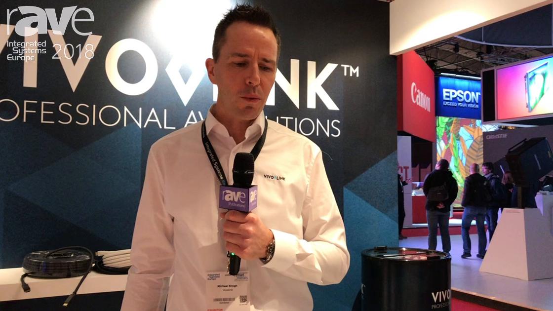 ISE 2018: VIVOLINK Shows 4K60 HDMI 2.0 with ARC Fiber Extender and Receiver