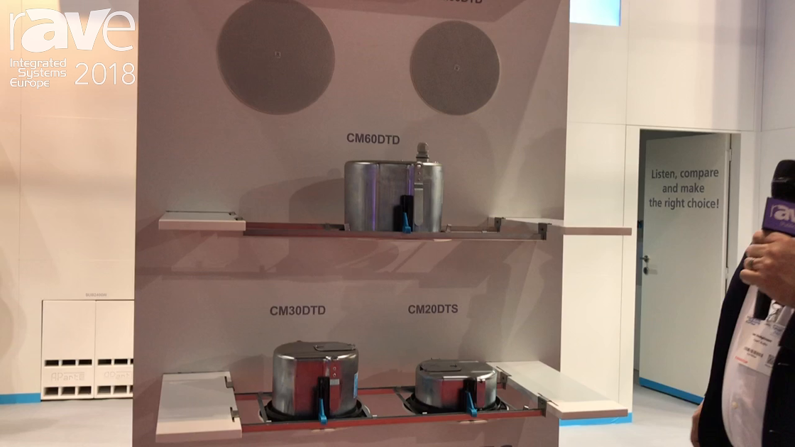 ISE 2018: Apart Audio Shows CM Design Series, Two-Way Low Impedance Loudspeakers