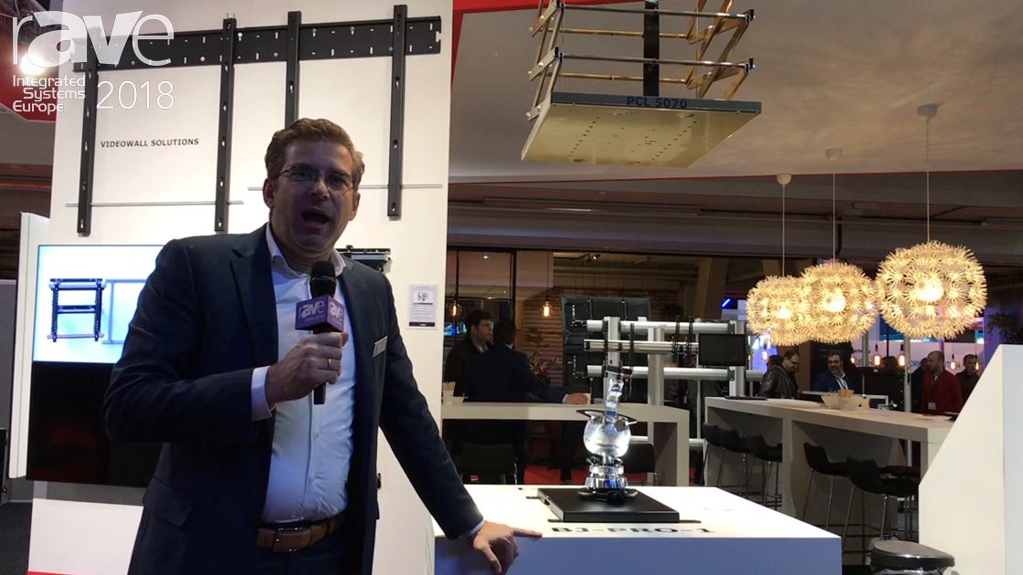 ISE 2018: Audipack Shows PCL 5070 Ceiling Lift System for Projectors, Celebrates 25th Anniversary