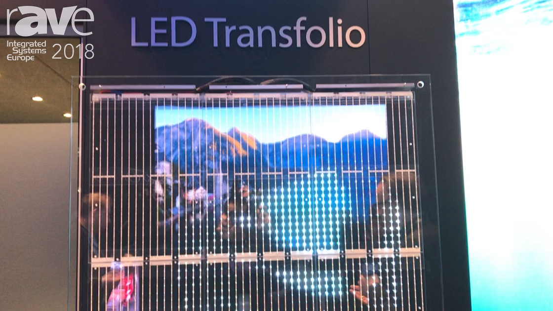ISE 2018: Expromo Launches Transparent Easy-to-Mount LED Transfolio For Retail Applications