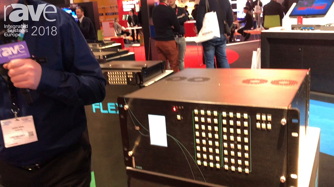 ISE 2018: RGBlink Unveils the New Modular FLEX32 Video Matrix With Seamless Switching