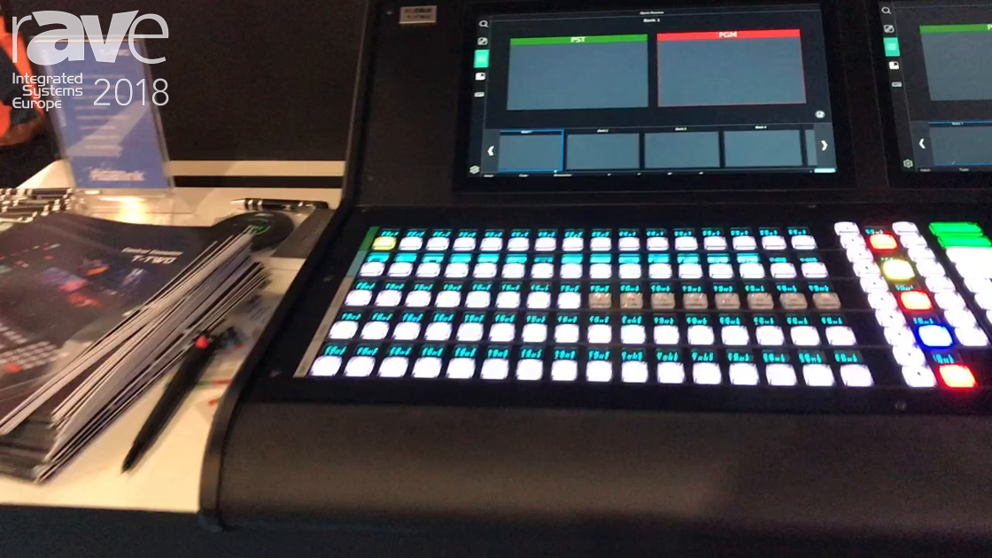 ISE 2018: RGBlink Shows Off T-TWO Control Console For Rental and Staging and Live Events