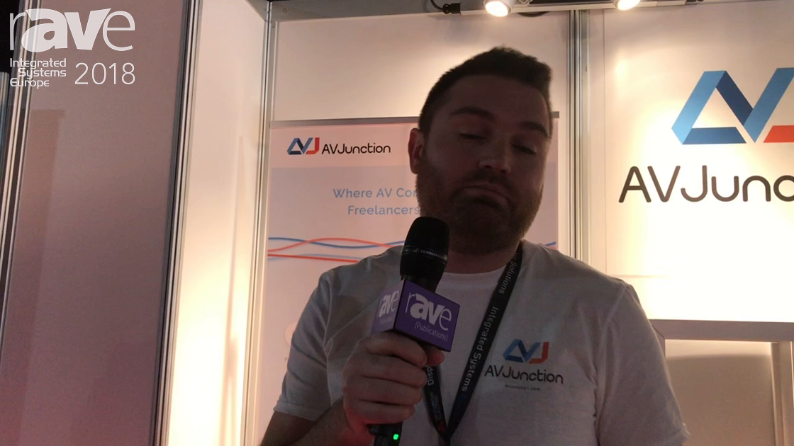 ISE 2018: AV Junction Connects AV Integrators with Freeleance AV Techs