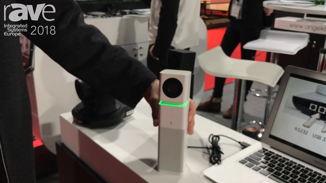 ISE 2018: Angekis Introduces Toledo All-in-One Videoconferencing System