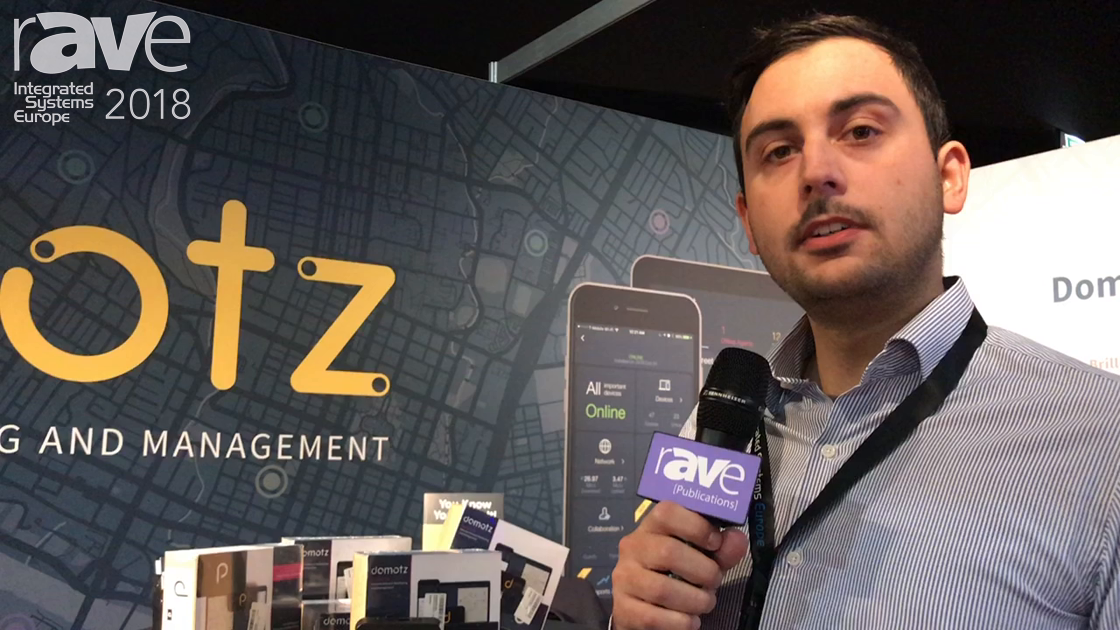 ISE 2018: Domotz Explains How Its Remote Monitoring and Management System Works