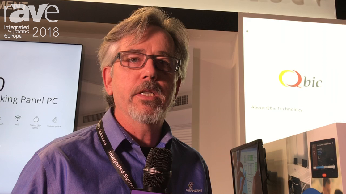 ISE 2018: FM Systems Explains Its FM Interact Room Reservation System