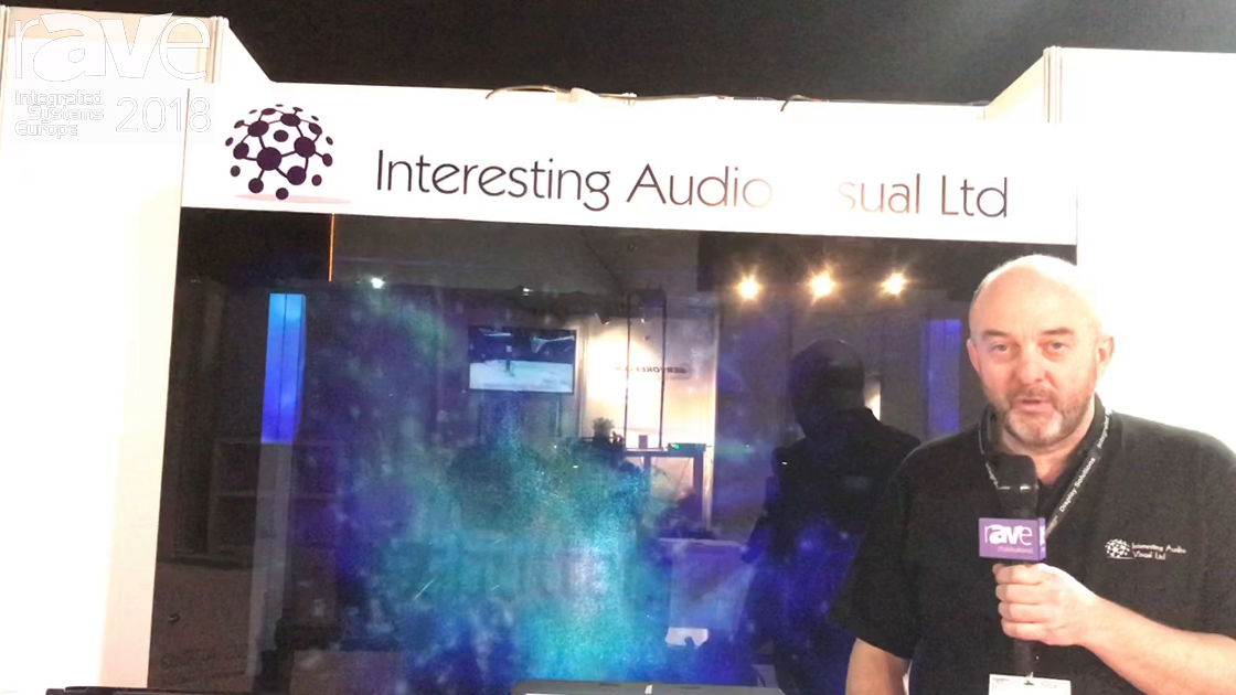 ISE 2018: Interesting Audio Visual Offers Holographic Illusions for Live Events, Museum Applications