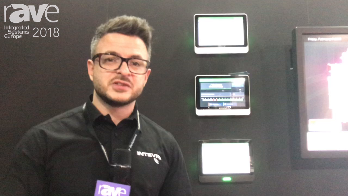 ISE 2018: Intevi Offers Line of Room Booking Signs and CMS System