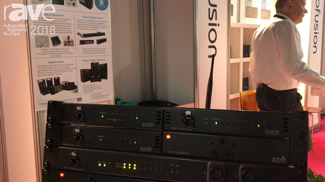 ISE 2018: Kudos Technology Debuts Line of Network Switches for AV-over-IP