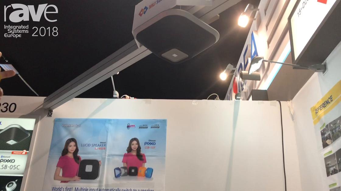 ISE 2018: MU Solvers Debuts Lucid Flat Ceiling Speaker