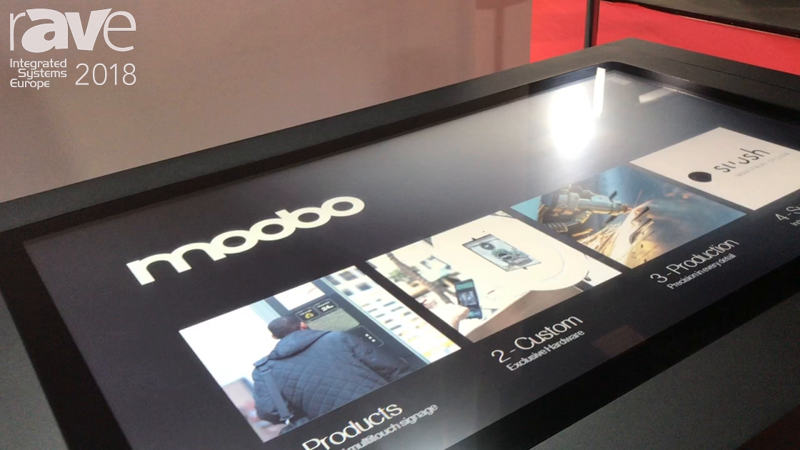 ISE 2018: Moobo Features New Interactive Touch Table