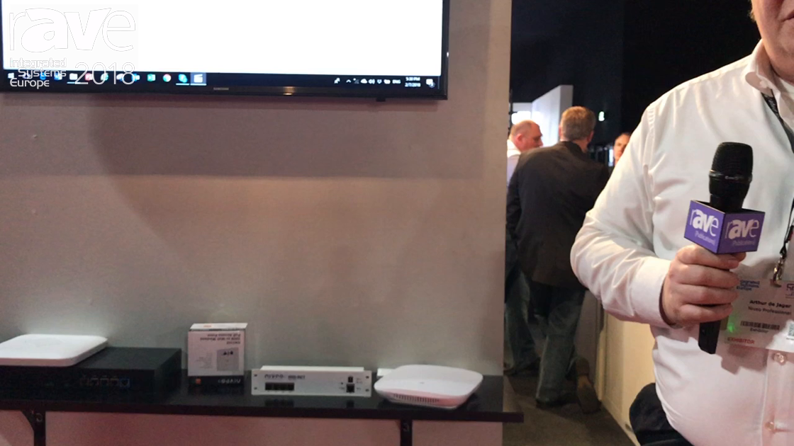 ISE 2018: Niveo Professional Shows Its AV-over-IP Line of Switches and Routers Including New NRS-RC1