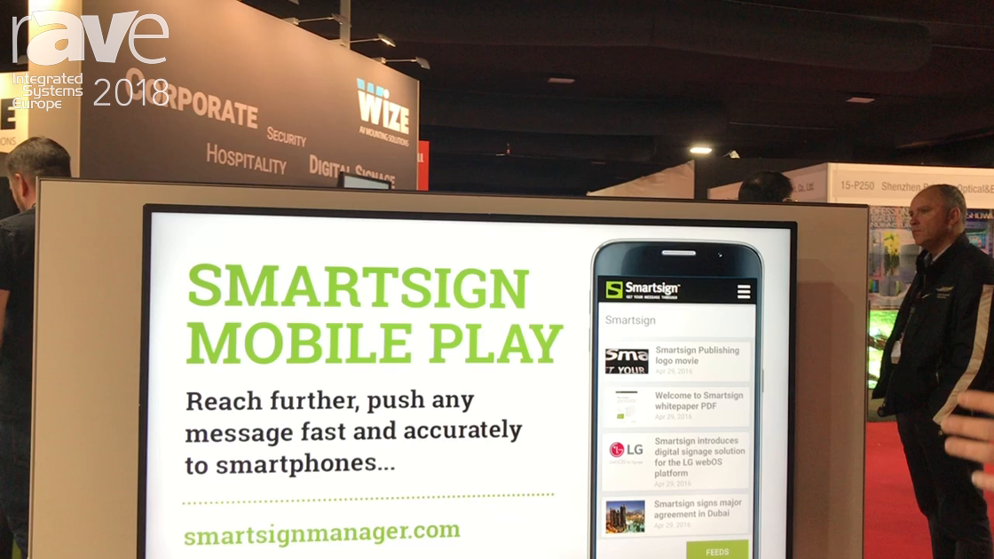 ISE 2018: Smartsign Updates Its Content Manager for Digital Signage to Version 10