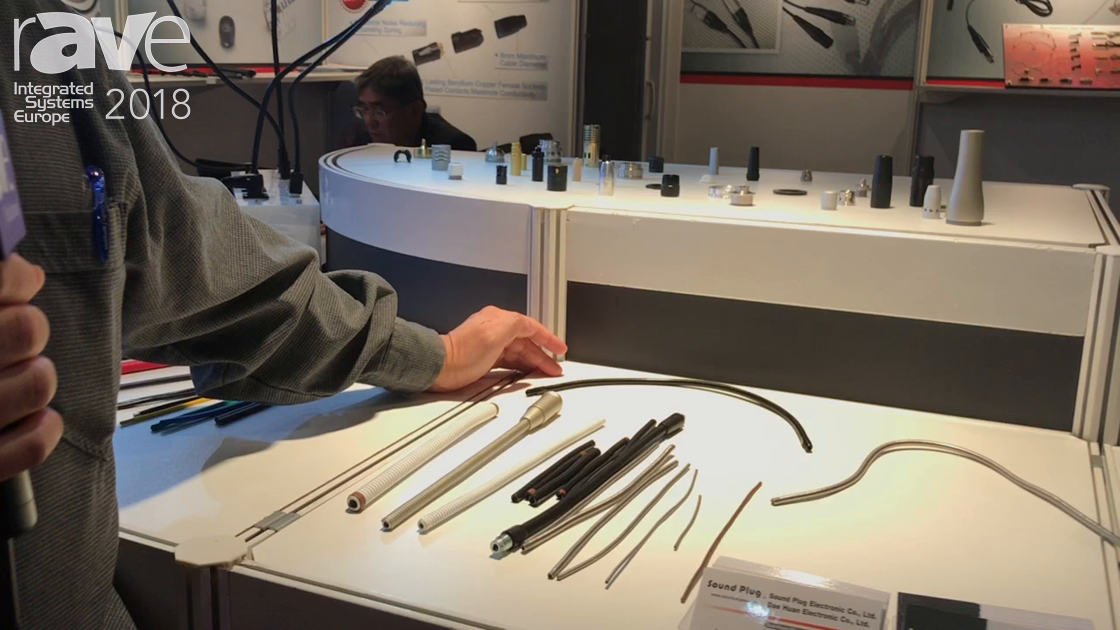 ISE 2018: Sound Plug Is a GooseNeck Microphone Manufacturer for Custom and Turnkey Applications