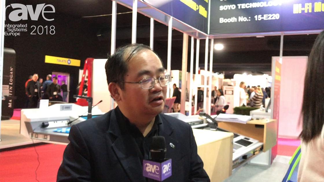 ISE 2018: TP-Wireless Launches Unique Umbrella Speaker System