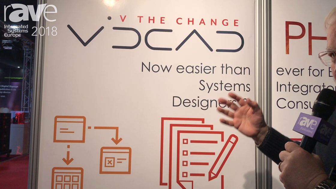ISE 2018: VidCAD Debuts Phoenix for AV System Design and Documentation Suite