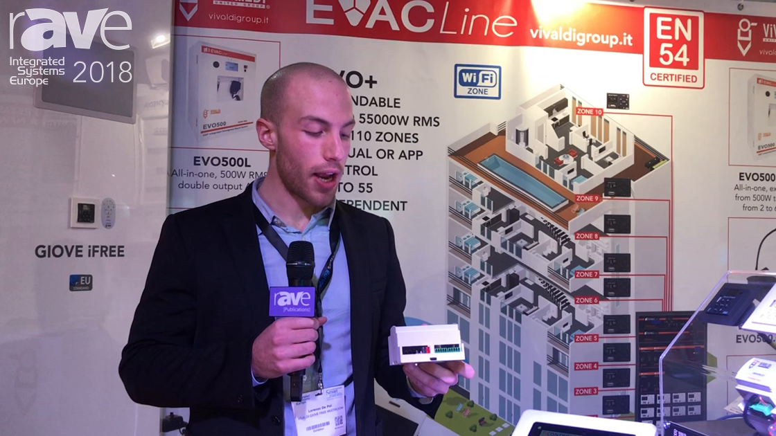 ISE 2018: Vivaldi Debuts iControl for Controlling Multiroom Audio Systems Inclduing KNX and Z-Wave