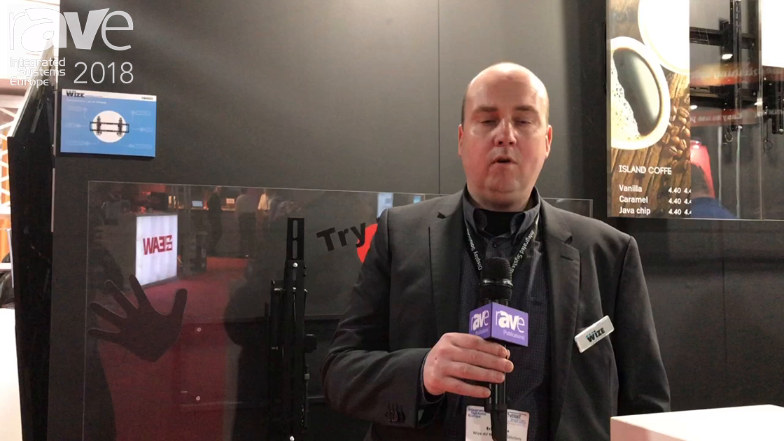 ISE 2018: Wize-AV Mounting Solutions Explains Its New VW46G3 Pop-Out Video Wall Mount