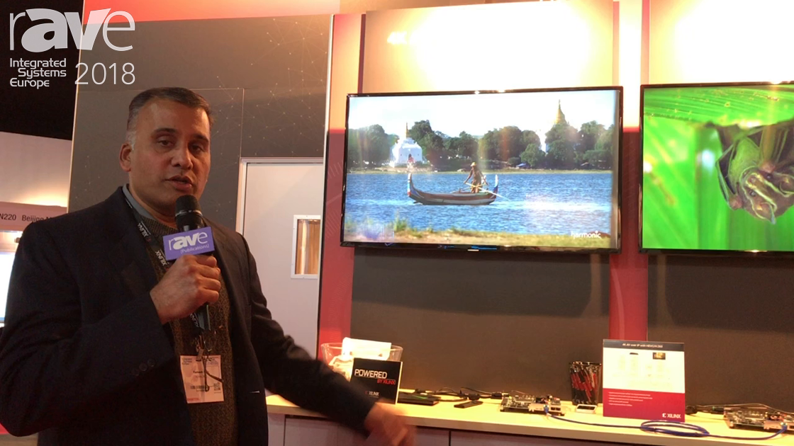 ISE 2018: Xilinx Demos 4K60 Encoder and Decoder Chipset in Real-time Through 1Gig Network