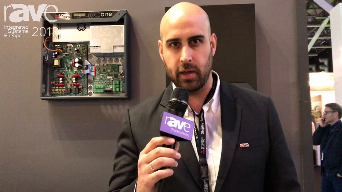 ISE 2018: LDA Audio Tech Talks About LDA ONE PA and Voice Evacuation System