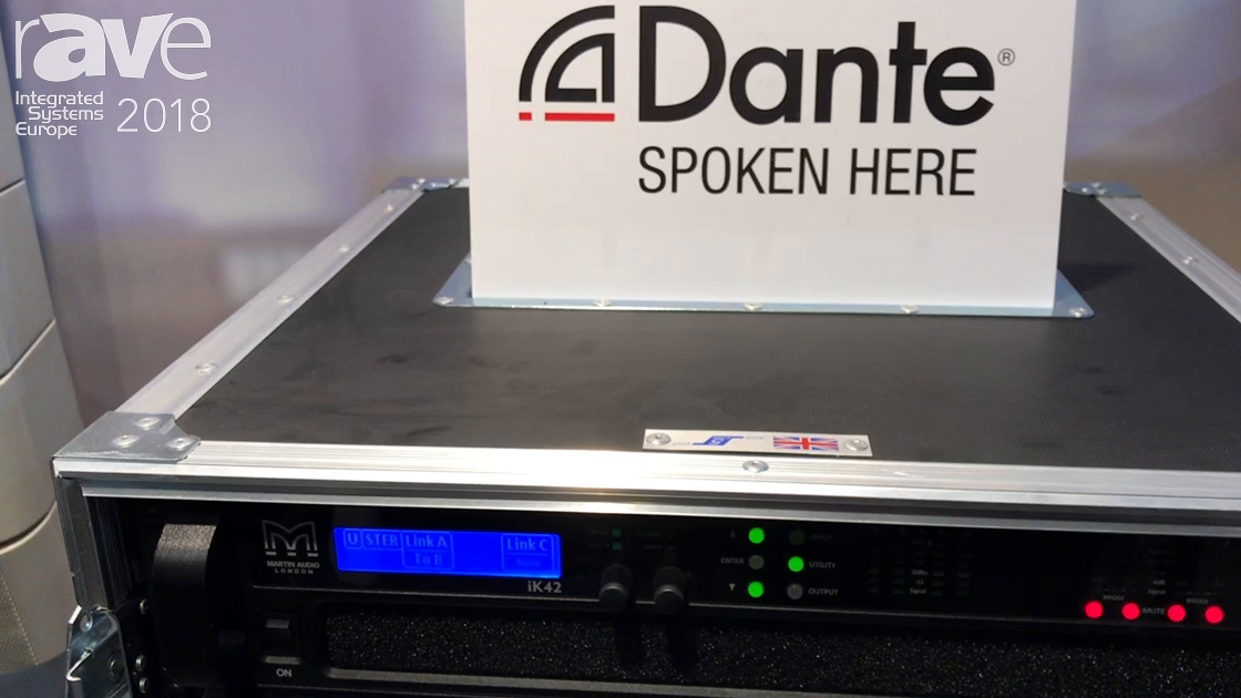 ISE 2018: Martin Audio Talks About New O-Line Loudspeaker Array