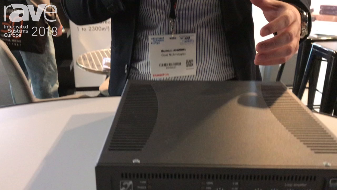 ISE 2018: Opus Technologies Talks About Induction Loop Amplifiers for Public Spaces