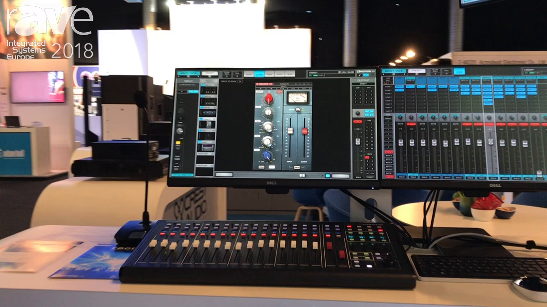 ISE 2018: Peavey Showcases Crest Tactus Digital Mixing System