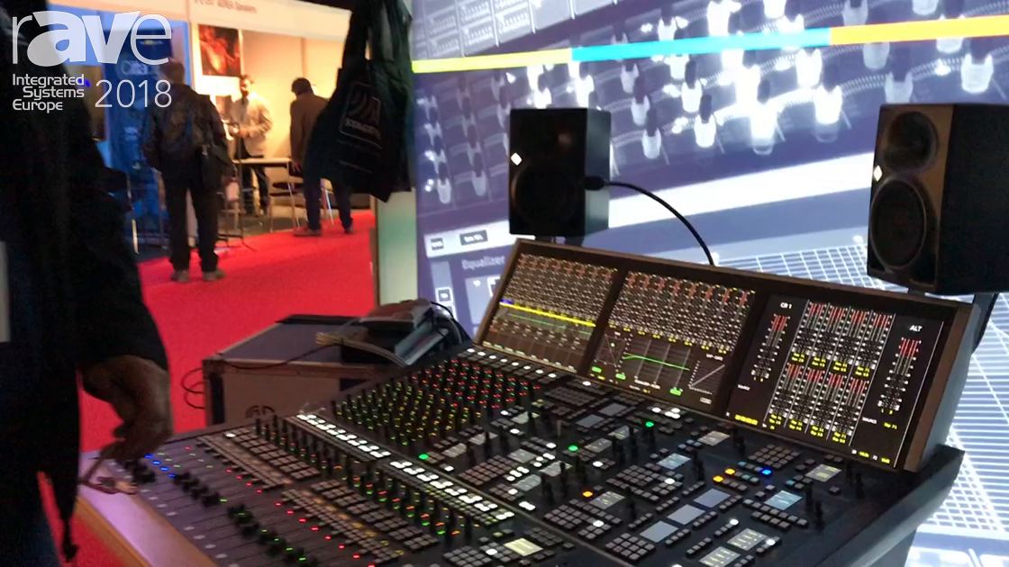 ISE 2018: Stage Tec Presents AURUS Audio Mixing Console