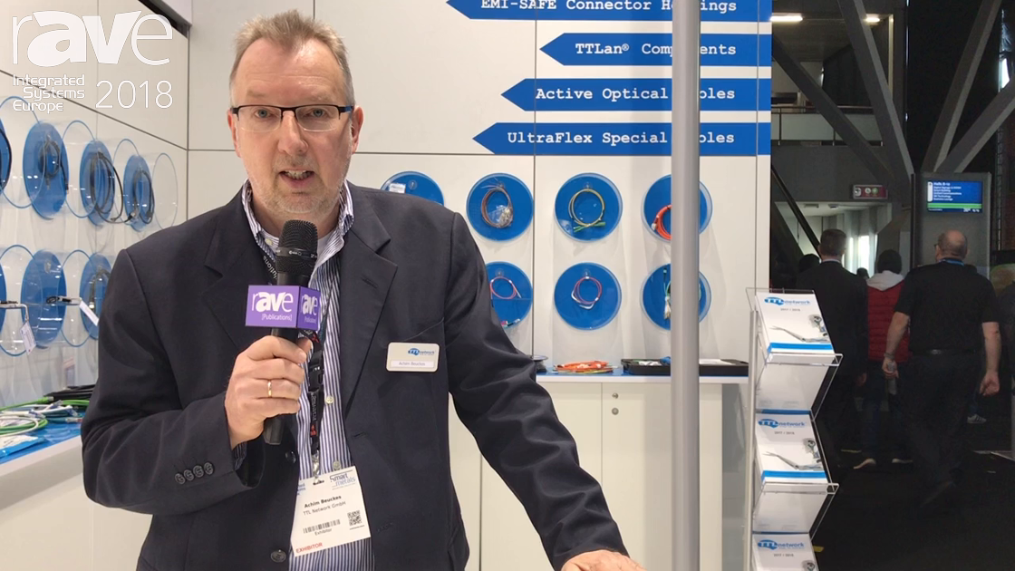 ISE 2018: TTL Network Highlights Display Port, HDMI and USB-C Cables