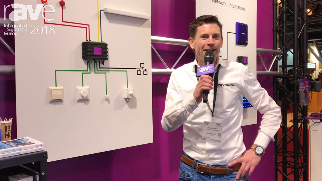 ISE 2018: Visual Productions Displays IoCore2 Network-Based Solid-State Interface for GPIO Signals