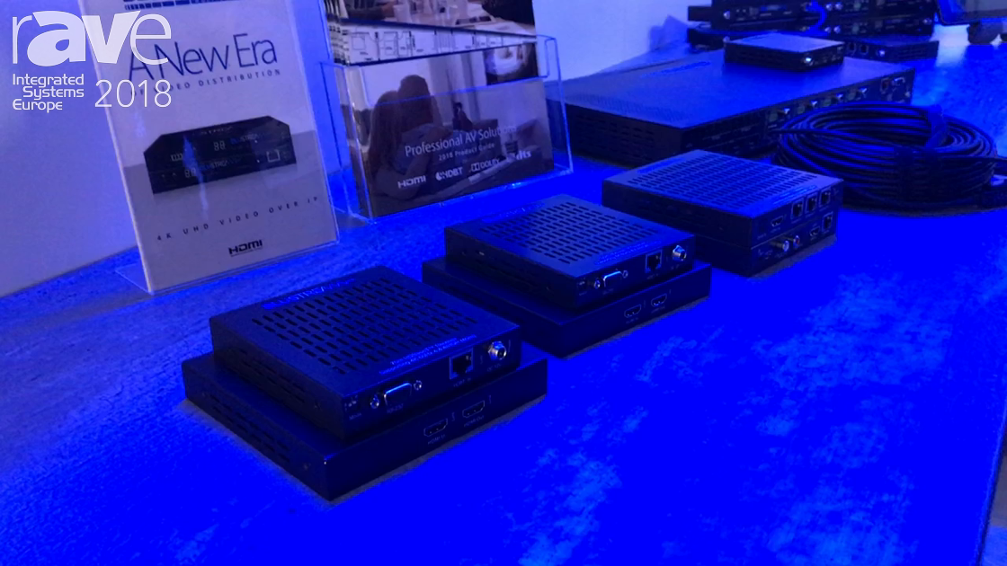 ISE 2018: Blustream Intros the HEX70CS, HEX100CS and HEX150DSC Extenders for 18Gig HDMI Distribution