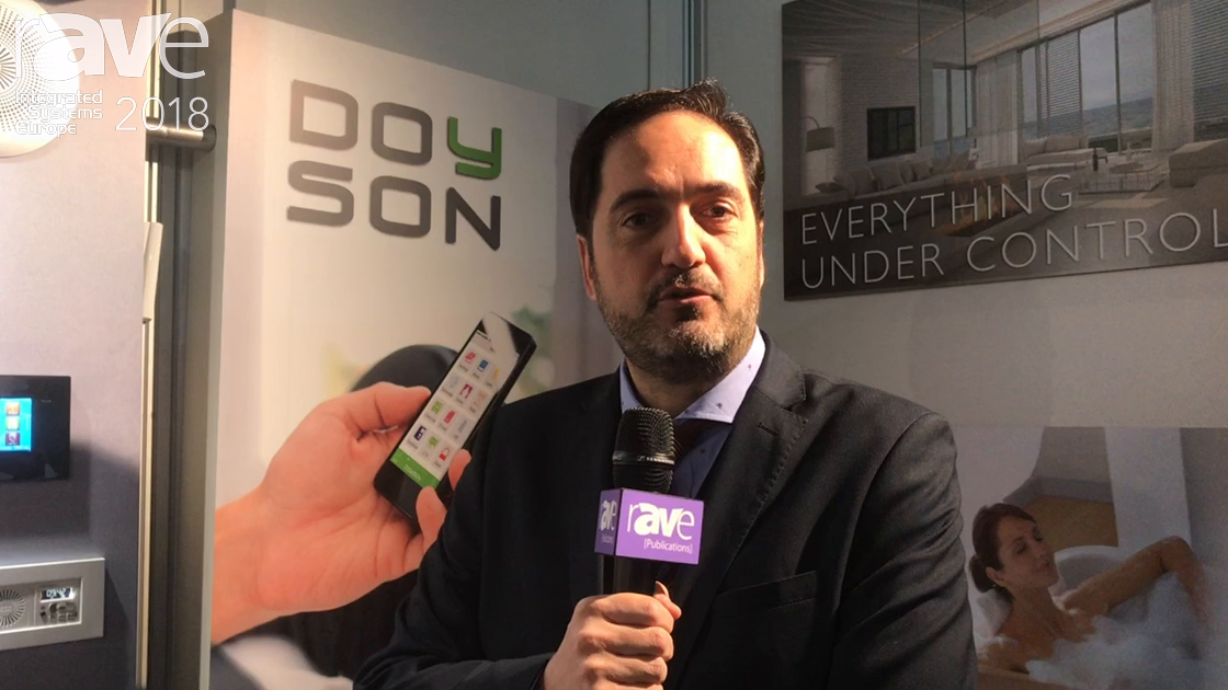 ISE 2018: Doyson Features the Series D Home Automation System With Multiroom Audio Functions