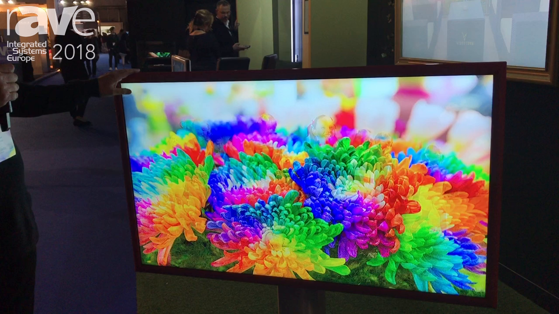ISE 2018: Videotree Shows Oceana 55 Thin, Fan-less Outdoor TV