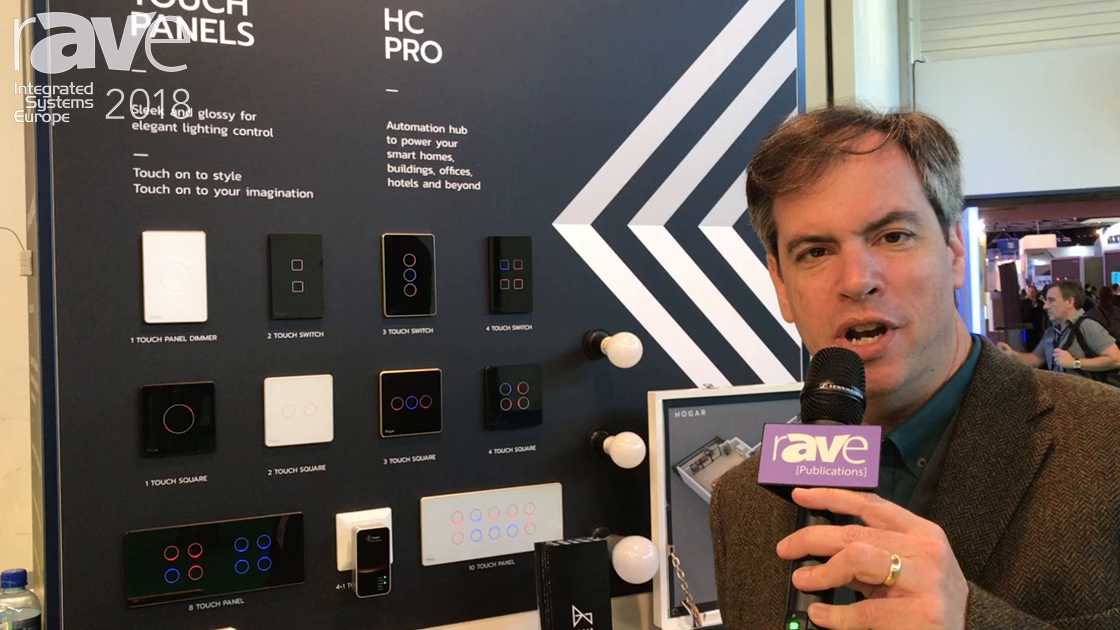 ISE 2018: Hogar Controls Explains Conplete ZWave Lighting Protocol System