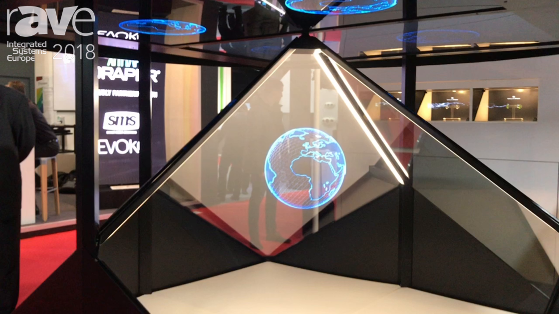 ISE 2018: Realfiction Presents Dreamoc Diamond Mixed Reality Display for Exhibition Applications
