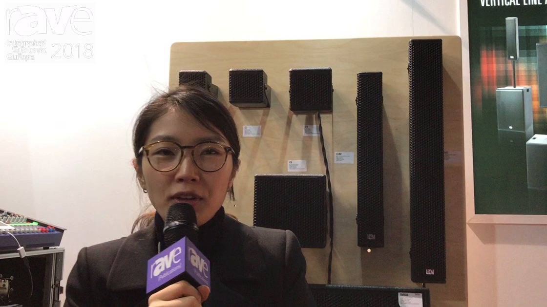 ISE 2018: LEEM Products Highlights C Series Compact Sound Installation System