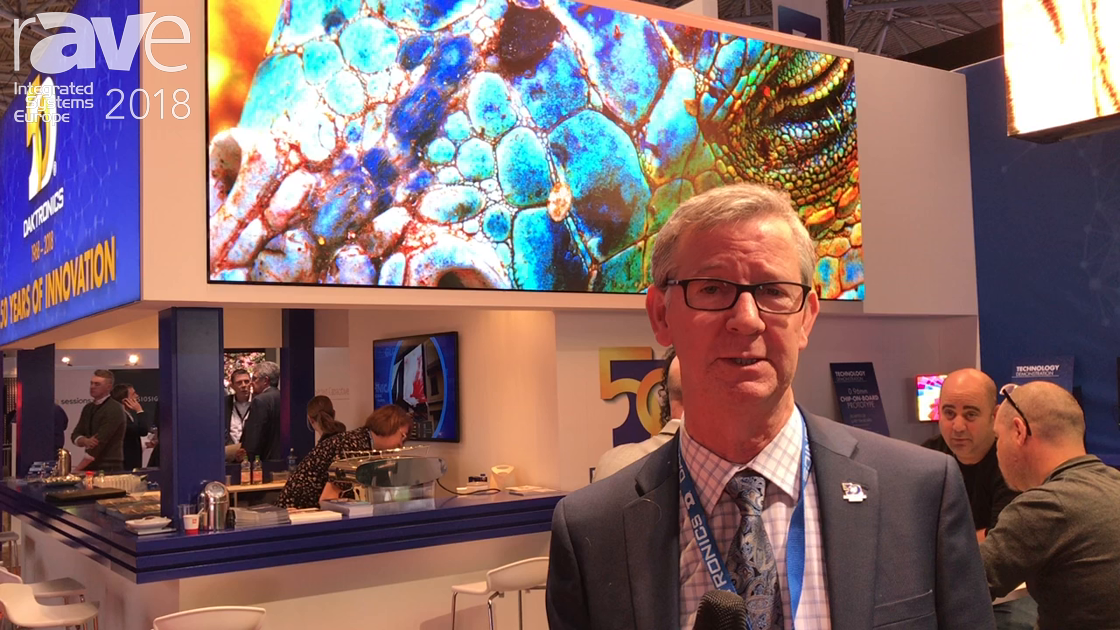 ISE 2018: Daktronics Celebrates 50 Years In Business With New NPP UHD Video Displays
