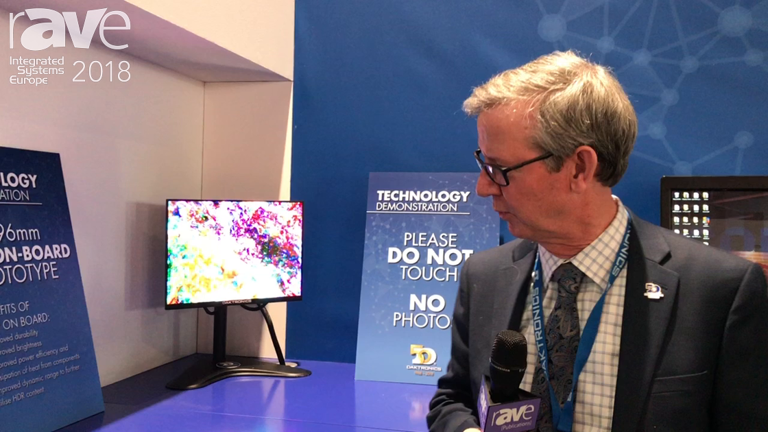ISE 2018: Daktronics Features 0.96mm Chip-On-Board Prototype