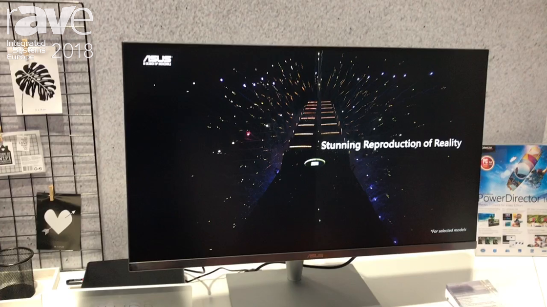 ISE 2018: ASUS Intros 32 Inch 4K Professional Monitor With HDR Quality