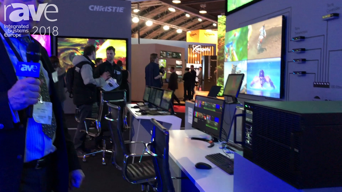 ISE 2018: Christie Highlights Spyder X80 Multi-Screen Windowing Processor