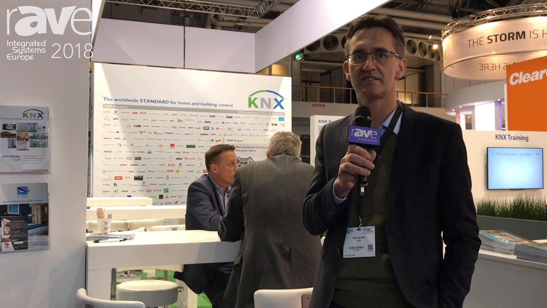 ISE 2018: KNX Describes Association and Standard for Home Building and Control