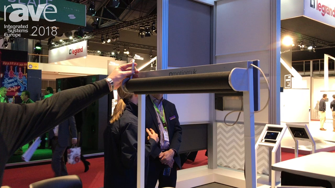 ISE 2018: QMotion Features Cat6 Wired Shading and New Motorized Drapery Rod RF Solutions
