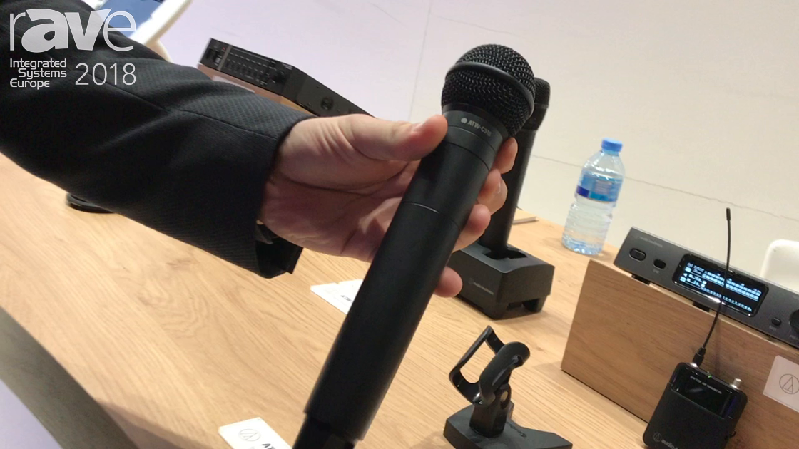 ISE 2018: Audio-Technica Shows 3000 Series Wireless Microphone System