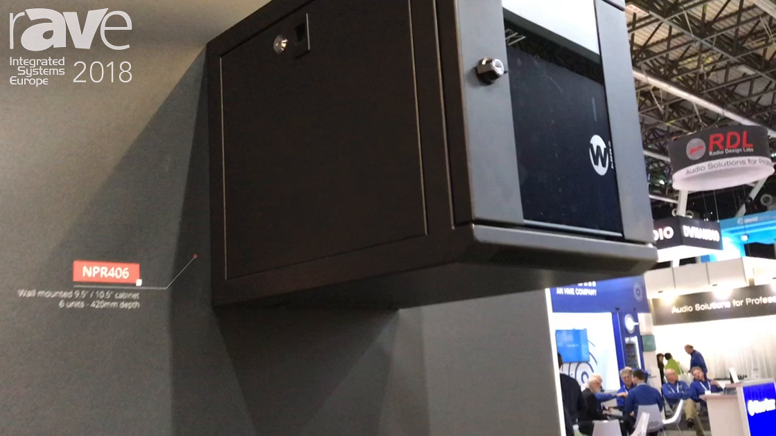 ISE 2018: Caymon Introduces Extensive Range of Cabinet Racks