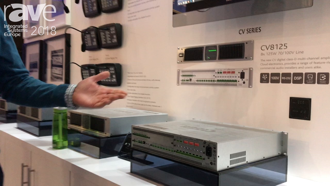 ISE 2018: Cloud Electronics Presents CV Series Amplifiers