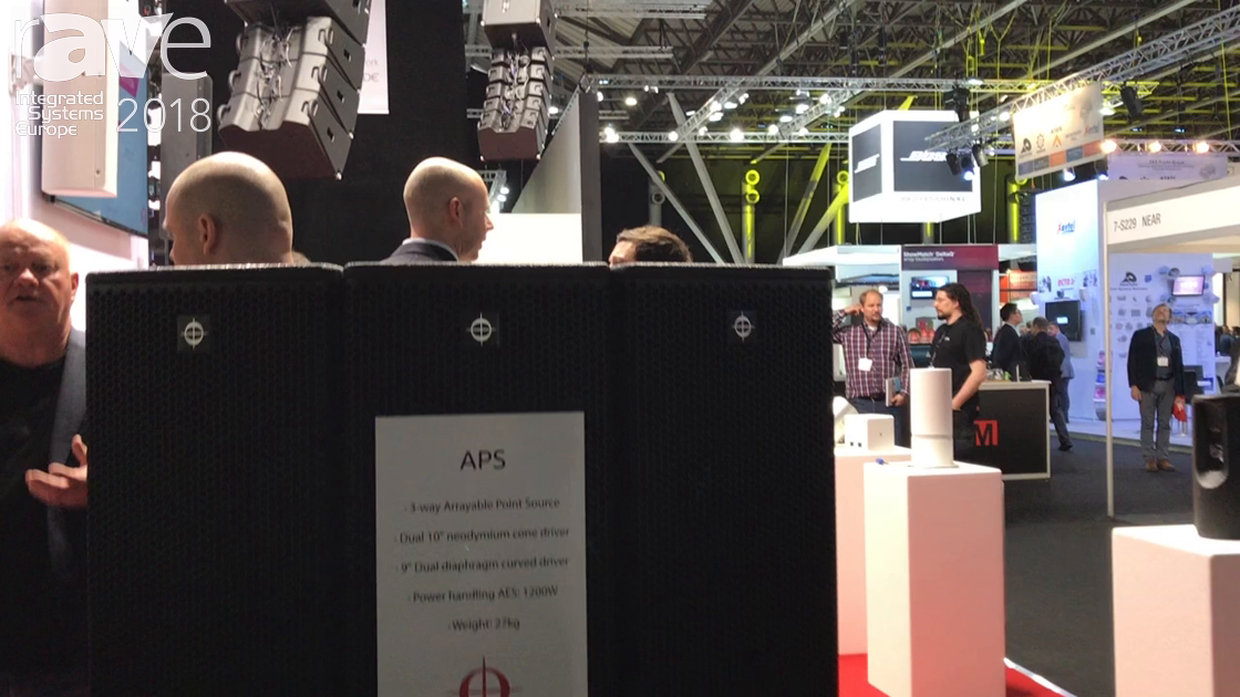 ISE 2018: Coda Audio Features APS Line Array Amp System