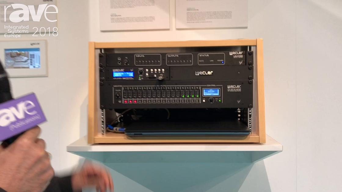 ISE 2018: Ecler Presents eMIMO 1616 Digital Matrix