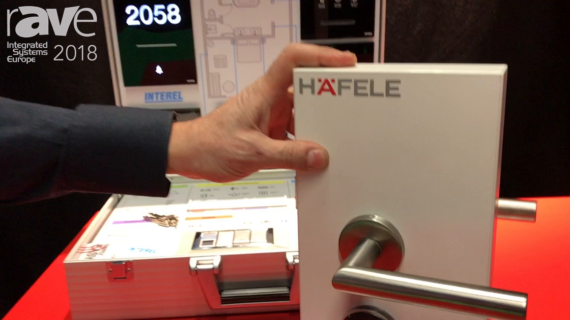 ISE 2018: Hafele Explains Smart Lock Door System With Traditional Measurements And Hotel Management